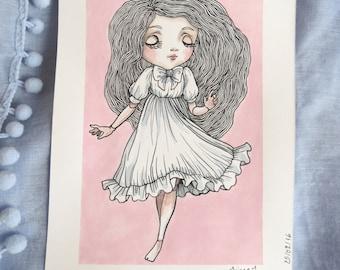 original illustration romantic pullip doll