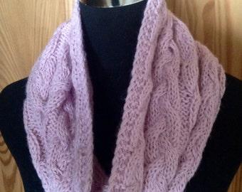 Alpaca snood, neck warmer, hood by Willow Luxury