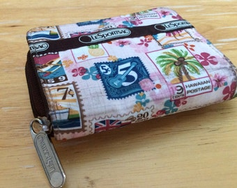 Vintage Le Sportsac wallet. Limited edition Hawaii wallet.