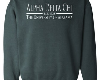 Customized Sorority/Group/Business/School - Comfort Colors Sweatshirt