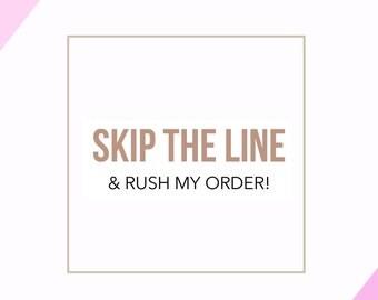 Rush My Order (3 Day Turn Around)