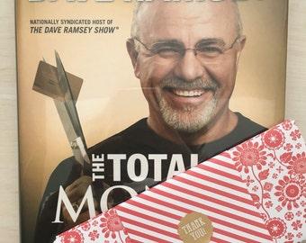 Dave Ramsey Total Money Makeover Hardback Book and set of 5 cash envelopes. Cash envelope system. Budget envelopes. Envelope system