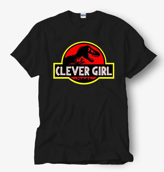Clever Girl Blue: Clever Girls Parody Of Jurassic Park Shirt Hot By Pendagloan