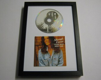 Tuesday Night Music Club - Sheryl Crow Framed CD