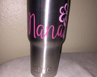 Nana cup decal
