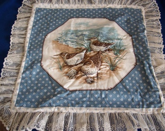 Sandpipers Pillow Top
