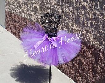 Purple tutu skirt, birthday girl tutu, newborn tutu, fluffy tutu skirt, wedding flower girl tutu, lavender tutu, Infant tutu, baby tutu,