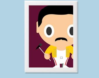 Baby Heroes-Baby Freddie Mercury