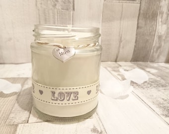 Mum (love) Scented Candle