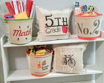 Classroom Pillow Props / Classroom Pillows / Teacher Pillow / Classroom Decor / Back to School / Classroom Organization / Pillow Prop