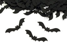 Bat Confetti   Fall Decor   Halloween Wedding Decor   Halloween Party Decor   Autumn Wedding Decor   Bat Decor   Halloween Baby Shower