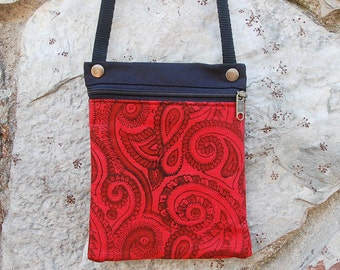 Shoulder bags red tea