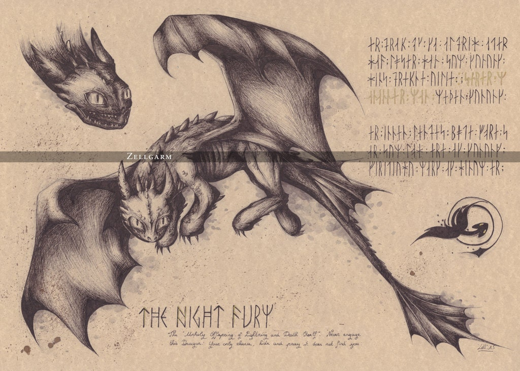 how to train your dragon art prints