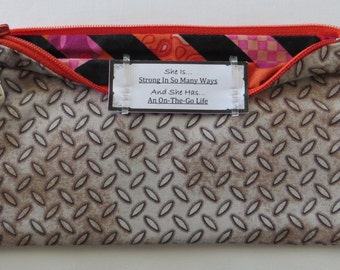 Persette #100 Personalized Zippered Organizing Pouch
