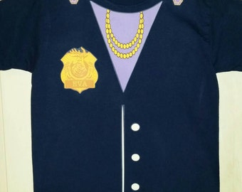 Odd Squad Ms. O T-Shirt with Badge