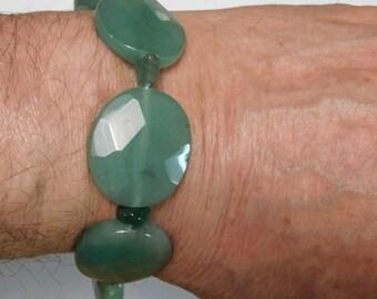 Handmade Natural Aventurine Bracelet
