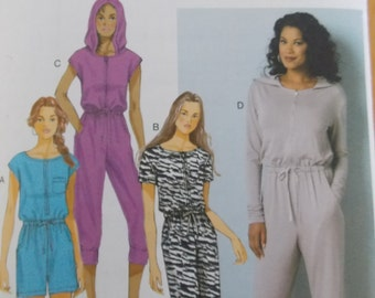 Sewing pattern butterick 6298  jumpsuit xs to med