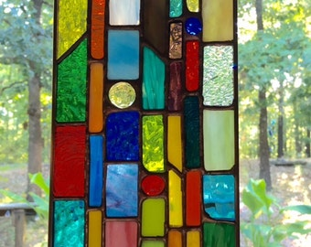 Mini stained glass sun catcher- a great gift idea