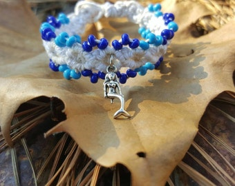 Mermaid cuff bracelet