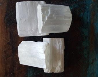 Selenite, Raw Natural Stones, Jewelry Supplies, Semi Precious Stones, Healing Gemstone, Jewelry Supply, Mystical Crystals