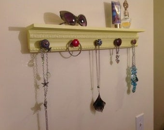 Rustic Shabby Chic jewelry / scarf holder.