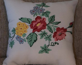 Spring Blooms Pillow