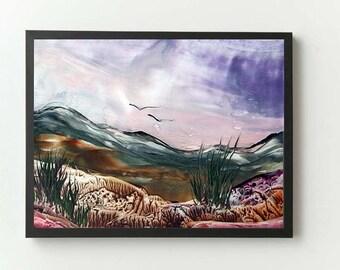 Digital Download of an Encaustic Artwork (10)