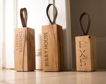 Personalised Handmade Door Stopper