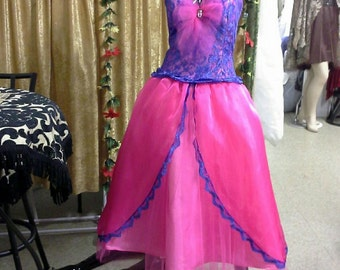 Pink and purple eye catching halter top sweet 16 prom evening gown