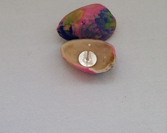 Colorful Pistachio Earrings