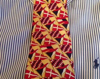 Men's 100% Silk Tie by Tommy Hilfiger