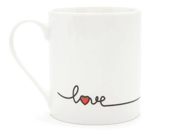 Love Heart Mug - Prefect for your Significant Other!