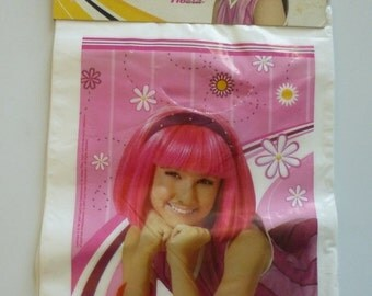 SALE Lazy Town plastic treat bags