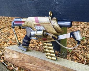 Steampunk Machine Pistol - prop