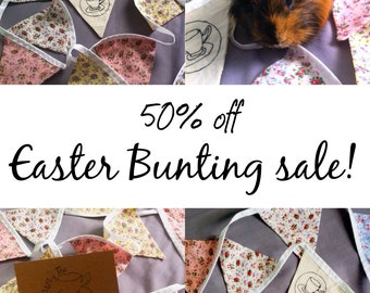 FLORAL BUNTING SALE!