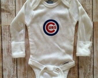 Cubs bodysuit- cubs baby- Cubs baby shirt- Chicago Cubs- Cubs baby gift- cubs baby shower gift- Chicago Cubs- Chicago Cubs baby- baby