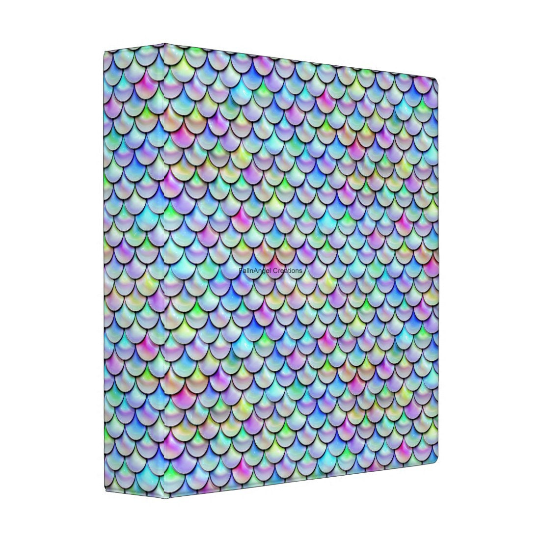 3 Ring Binder Rainbow Bubble Scales Book 4 Sizes Available