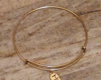 Hope! Charm bracelet