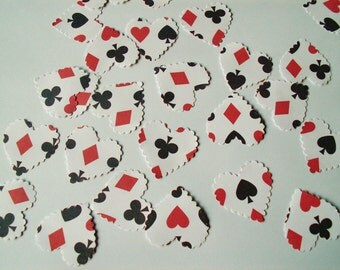 100 Vintage Stye Alice In Wonderland Selection - Paper Wedding / Party Table Confetti Decorations