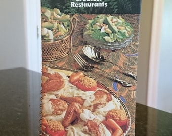 Benson & Hedges 100's presents 100 Recipes from 100 of the Greatest Restaurants 1978/Cookbook/Cigarette  Company Collectible