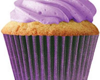 Plum/Purple Standard Cupcake Liners (30 pcs)