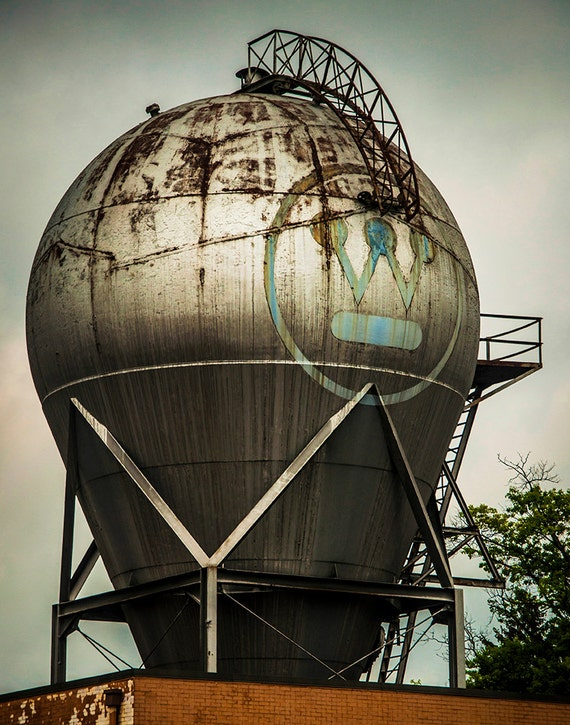 Westinghouse Atom Smasher, Wood Print, Abandoned, Urban Exploration, Rust, Wall Art, Pittsburgh, Pennsylvania, Industrial