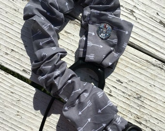 Gray aarow stethoscope cover