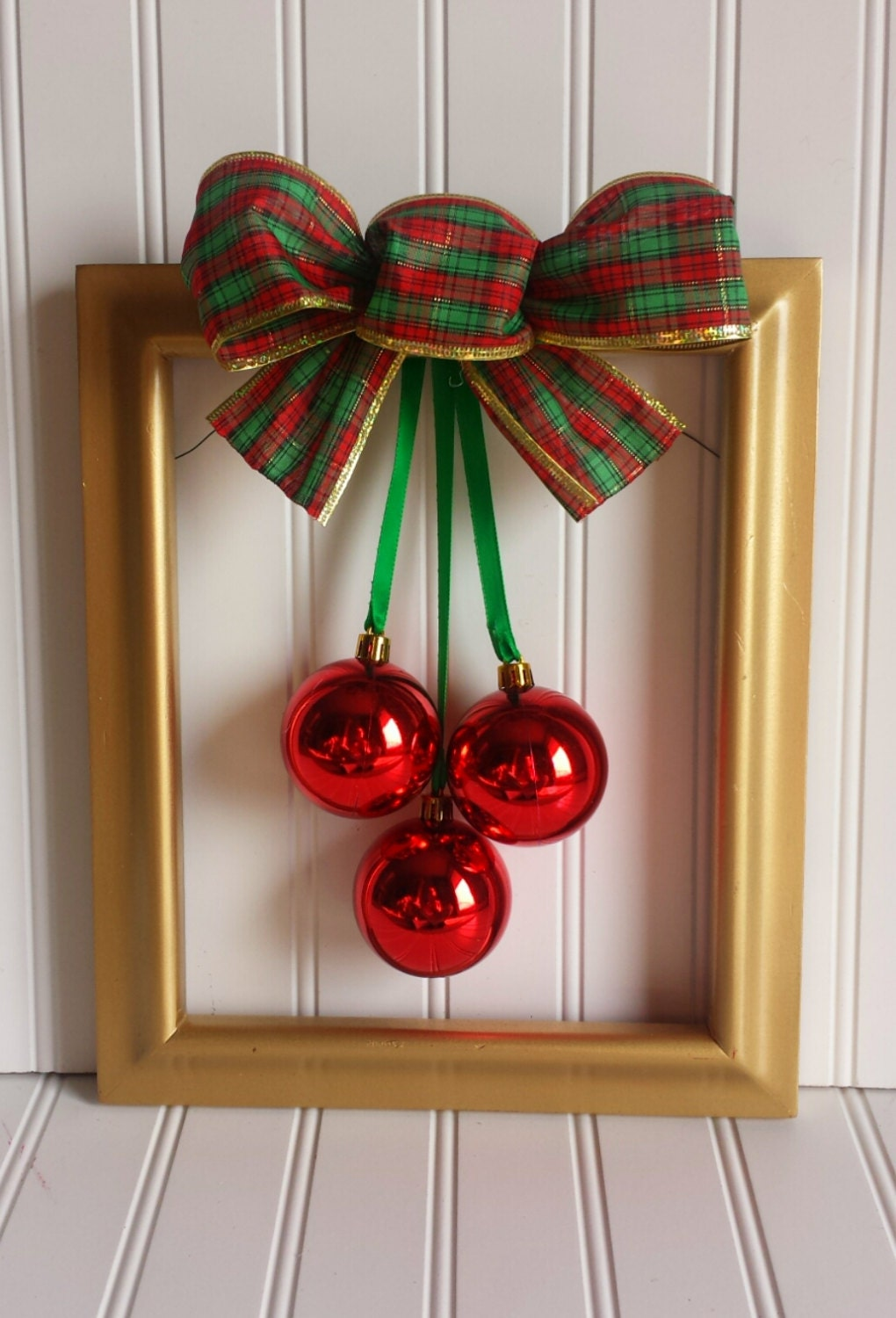 Sale Christmas Picture Frame Wreath