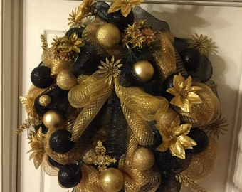 Saints mesh  wreath / made tosay !!