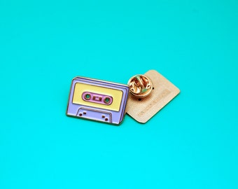 SALE - Enamel Pin / Lapel Pin / Deluxe Mixtape