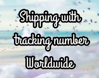 Add tracking number to your order!