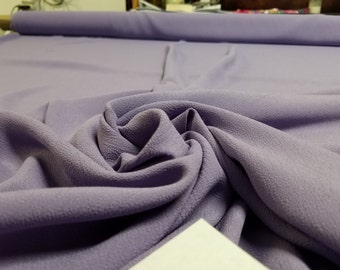 UltraViolet 100% Rayon Crepe