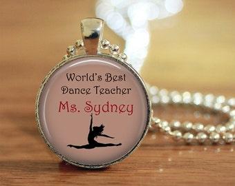 Dance, Dance Teacher, Dance Teacher Gift, Personalization, Dance Personalization, Dance Teacher Personalization,