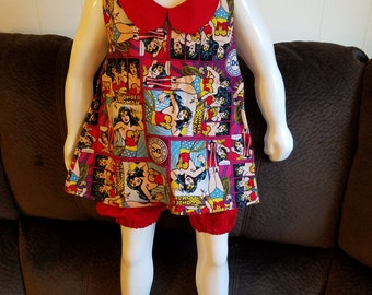 Toddler Girl's Halter Top and Shorts